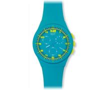 Armbanduhr Chrono Plastic ACID DROP Chronograph Silikon SUSL400