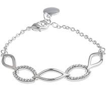 Damen-Gliederarmbänder Versilbert 616-3100273