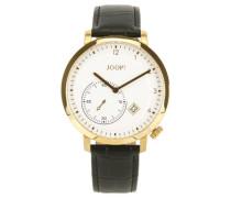 Armbanduhr XL Analog Quarz Leder JP100381004U