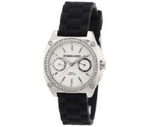 Damen-Armbanduhr XS Analog Quarz Silikon 334315