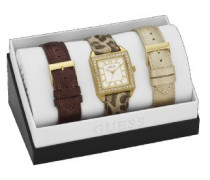 Damen-Armbanduhr Analog Quarz Leder W0068L2