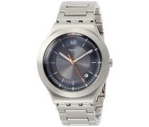Analog Quarz Uhr mit Edelstahl Armband YWS425G