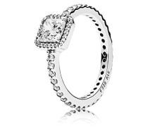 Ring Zeitlose Eleganz 925 Silber Zirkonia weiß