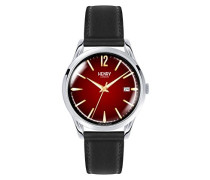 Datum klassisch Quarz Uhr mit Leder Armband HL39-S-0095