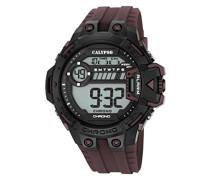 -Armbanduhr Digital Digital Plastik K5696/7