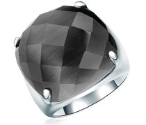 Ring Classic Collection 925 Sterling Silber Katzenauge grau