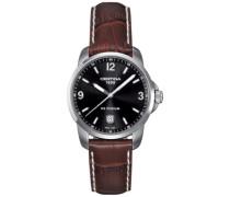Armbanduhr XL Analog Quarz Leder C001.410.16.057.00