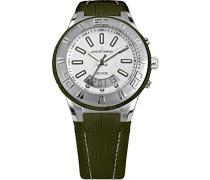 Erwachsene Armbanduhr Multi Zifferblatt Quarz Leder 1-1772E