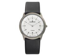 Armbanduhr Modena - Titanuhren Analog Quarz Leder 4460336