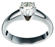 Damen-Ring 750 Gold 1 Diamant 1.00 Carat