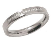 Damen-Ring Titan 15 Brillianten 0,075