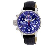 1513 I-Force Uhr Edelstahl Quarz blauen Zifferblat