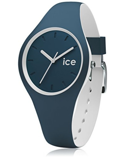 ICE duo Atlantic - Blaue Herrenuhr mit Silikonarmband - 001487 (Small)