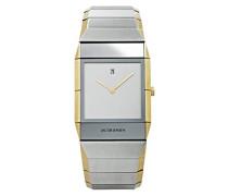 Armbanduhr SAPPHIRE Analog Quarz Edelstahl 553