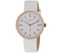 Damen-Armbanduhr Analog Quarz Leder 701614040