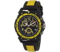 Jungenuhr Chronograph Quarz mit Lederarmband – R3271697027
