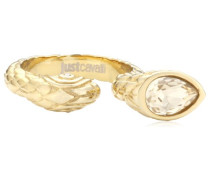 Ring Edelstahl Kristall Passion gold SCAAC06020