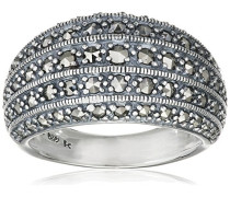 Ring 925 Silber vintage-oxidized Markasit 52 (16.6) - L0116R/90/B3/52