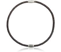 Damen Halskette Titan Leder 50.0 cm 0843-0450