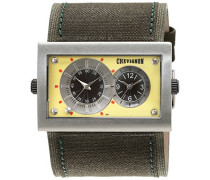 Herren-Armbanduhr Analog Quarz Leder 92-0019-501