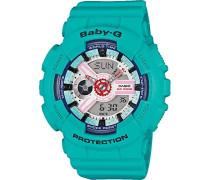 Baby-G Damen-Armbanduhr BA110SN3AER