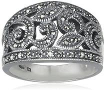 Ring 925 Silber vintage-oxidized Markasit 60 (19.1) - L0114R/90/B3/60