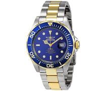 9310 Pro Diver Uhr Edelstahl Quarz blauen Zifferblat