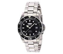 8926 Pro Diver Uhr Edelstahl Automatik schwarzen Zifferblat