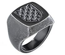 Sigel Edelstahl mit - Ringgröße 65 (20.7) SAKB23025