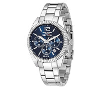 Armbanduhr 240 Chronograph Quarz Edelstahl R3273676004