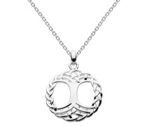 Damen-Halsband 925 Sterling Silber silber 9346HP