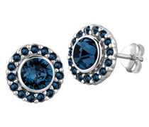 Ohrstecker Royal Klassisch Elegant Glamour silber 925 Swarovski Kristall