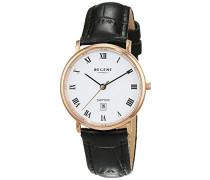 Damen-Armbanduhr Analog Quarz Leder 12100614