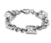-LS 1220-2-1 Damen-Armband Edelstahl 22 cm