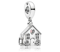 Moments Perfect Home Charm Anhänger 925 Sterlingsilber 27 mm