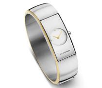 Damen Analog Quarz Uhr mit Edelstahl Armband 471
