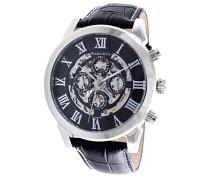 Boudier&Cie Automatik Skelett Armbanduhr für Herren