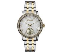 Analog Quarz Uhr mit Edelstahl Armband ID00801