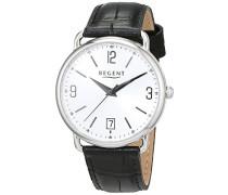 Damen Analog Quarz Uhr mit Leder Armband 12111176