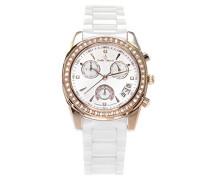 Armbanduhr Analog Quarz Premium Keramik Diamanten - STM15L5