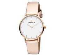 Damen-Armbanduhr Fashion Analog Quarz Leder