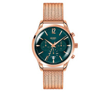 Armbanduhr Stratford Chronograph Quarz Edelstahl HL39-CM-0142