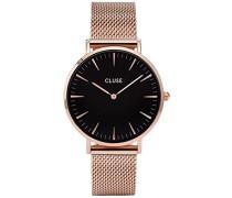 Armbanduhr Analog Quarz Edelstahl CL18113