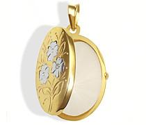 Medallion 333 Gelbgold 1 Diamant 0