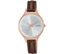 Damen-Armbanduhr Analog Quarz Leder PH8282X1