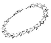 Damen-Armband 925 Sterlingsilber Diamant 190 mm