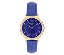 Armbanduhr Blue Line Analog Quarz Leder SL5612A1