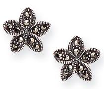 MER155 Ohrringe Sterling-Silber 925 Markasit