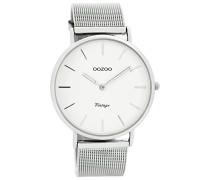 Digital Quarz Uhr mit Edelstahl Armband C7724