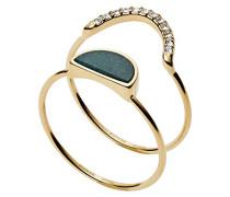 Stapelring Edelstahl zirkonia '- Ringgröße 56 (17.8) JF02948710-8